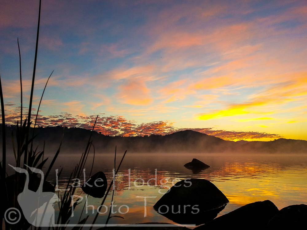 Good morning at Lake Hodges Photo Tours, CA, USA